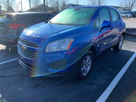 2016 Chevrolet Trax for sale at HILLS AUTO LLC in Henryville IN