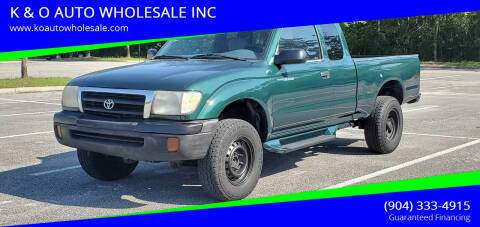 2000 Toyota Tacoma for sale at K & O AUTO WHOLESALE INC in Jacksonville FL
