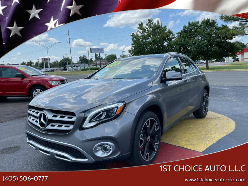 2019 Mercedes-Benz GLA for sale at 1st Choice Auto L.L.C in Oklahoma City OK