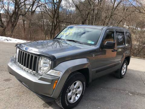 2012 Jeep Liberty for sale at SARRACINO AUTO SALES INC in Burgettstown PA