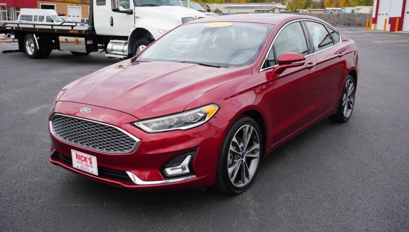 2019 Ford Fusion for sale at Ricks Auto Sales, Inc. in Kenton OH