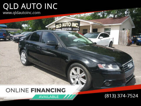 2011 Audi A4 for sale at QLD AUTO INC in Tampa FL