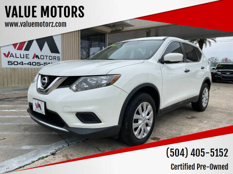 2016 Nissan Rogue for sale at VALUE MOTORS in Kenner LA