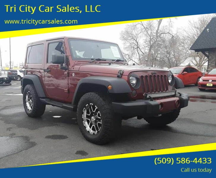2012 Jeep Wrangler for sale at Tri City Car Sales, LLC in Kennewick WA