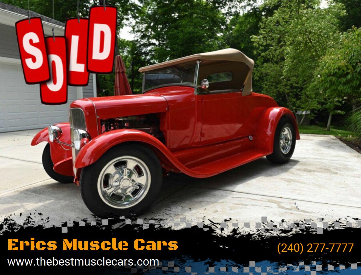 1929 Ford Brookville Roadster SOLD SOLD SOLD