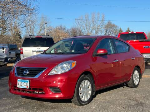 2013 Nissan Versa for sale at North Imports LLC in Burnsville MN