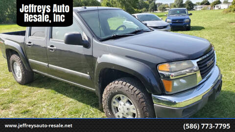 2008 GMC Canyon for sale at Jeffreys Auto Resale, Inc in Clinton Township MI