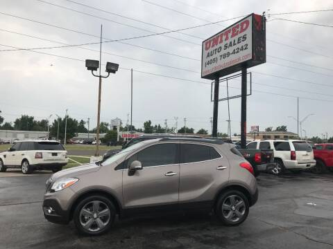 2014 Buick Encore for sale at United Auto Sales in Oklahoma City OK