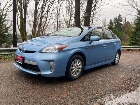2012 Toyota Prius Plug-in Hybrid for sale at Maharaja Motors in Seattle WA