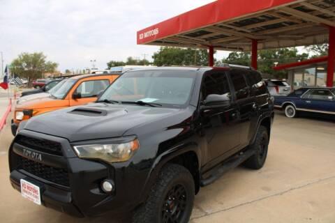 2015 Toyota 4Runner for sale at KD Motors in Lubbock TX