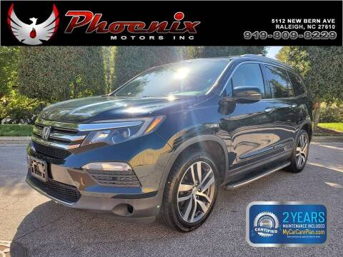 2016 Honda Pilot for sale at Phoenix Motors Inc in Raleigh NC