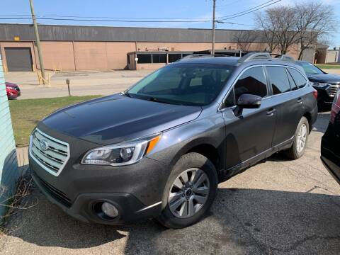 2017 Subaru Outback for sale at M-97 Auto Dealer in Roseville MI