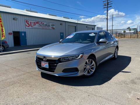 2018 Honda Accord for sale at SUPER AUTO SALES STOCKTON in Stockton CA