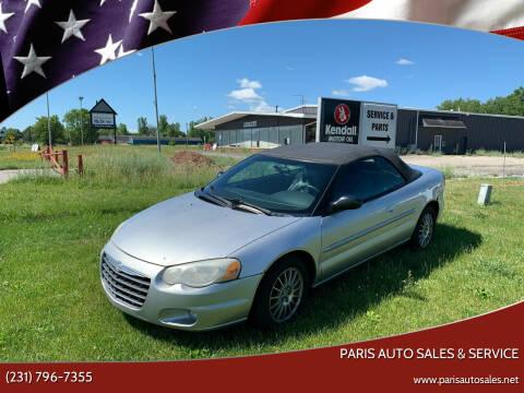 2004 Chrysler Sebring for sale at Paris Auto Sales & Service in Big Rapids MI