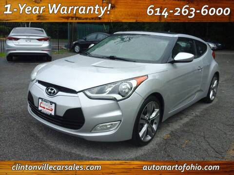 2012 Hyundai Veloster for sale at Clintonville Car Sales - AutoMart of Ohio in Columbus OH