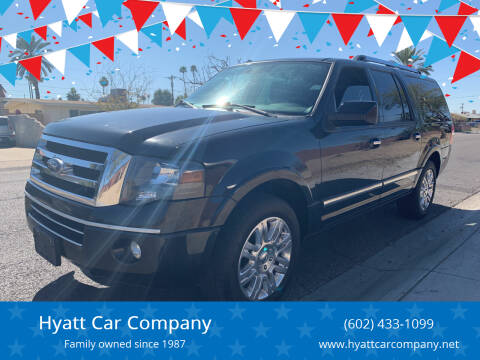 2011 Ford Expedition EL for sale at Hyatt Car Company in Phoenix AZ