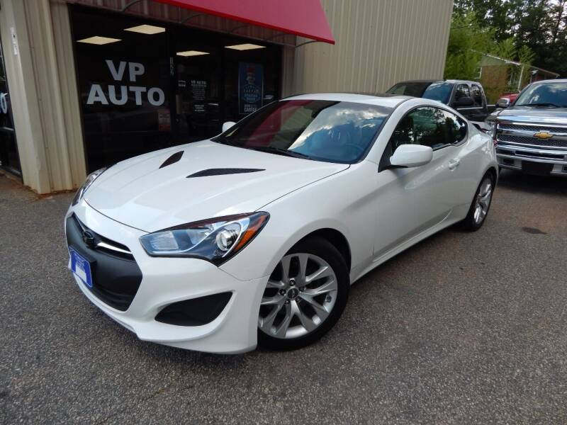 2013 Hyundai Genesis Coupe for sale at VP Auto in Greenville SC
