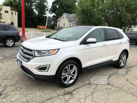 2017 Ford Edge for sale at Bibian Brothers Auto Sales & Service in Joliet IL