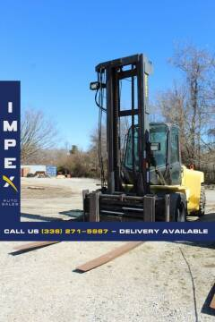 2008 HYSTER H250HD for sale at Impex Auto Sales in Greensboro NC