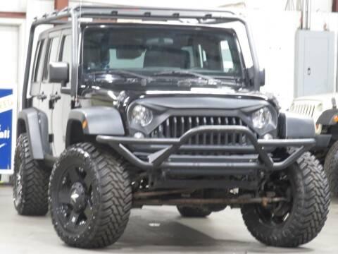 2014 Jeep Wrangler Unlimited for sale at CarPlex in Manassas VA