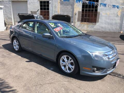 2012 Ford Fusion for sale at Riverside Wholesalers 2 in Paterson NJ