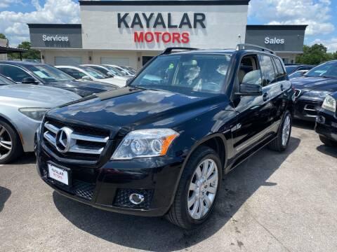 2012 Mercedes-Benz GLK for sale at KAYALAR MOTORS in Houston TX