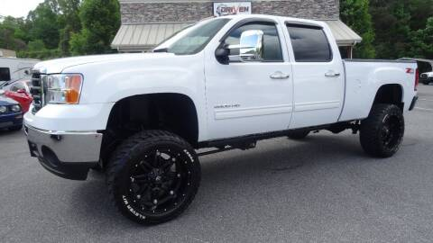 2010 GMC Sierra 2500HD for sale at Driven Pre-Owned in Lenoir NC