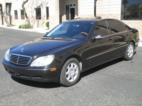 2000 Mercedes-Benz S-Class for sale at COPPER STATE MOTORSPORTS in Phoenix AZ