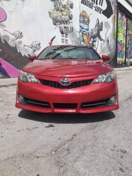 2012 Toyota Camry for sale at Rosa's Auto Sales in Miami FL