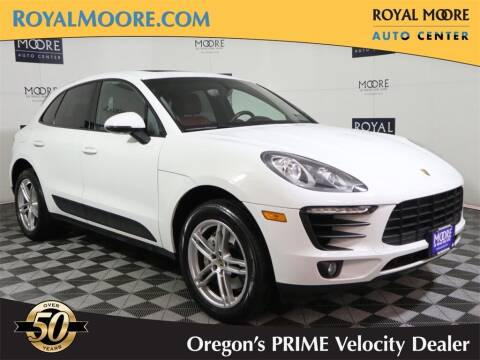 2015 Porsche Macan for sale at Royal Moore Custom Finance in Hillsboro OR