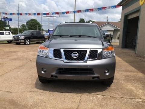 2015 Nissan Armada for sale at Herman Jenkins Used Cars in Union City TN