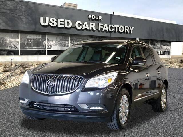 2017 Buick Enclave for sale at JOELSCARZ.COM in Flushing MI