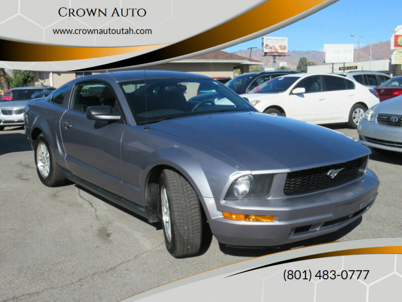 2007 Ford Mustang for sale at Crown Auto in South Salt Lake City UT