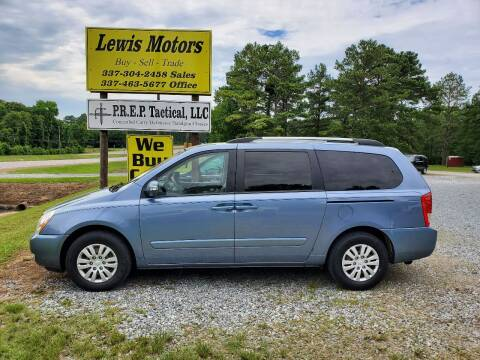 2012 Kia Sedona for sale at Lewis Motors LLC in Deridder LA