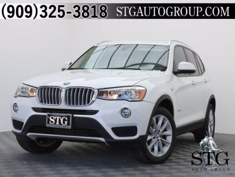 2017 BMW X3 for sale at STG Auto Group in Montclair CA