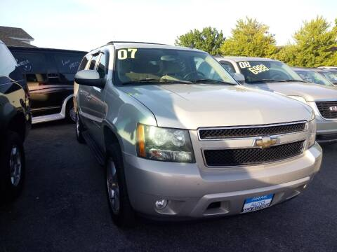 2007 Chevrolet Suburban for sale at Arak Auto Group in Bourbonnais IL