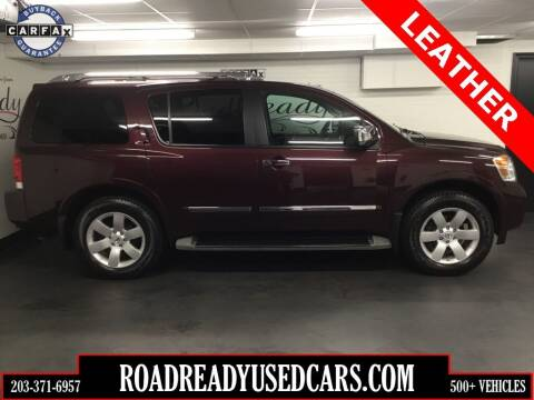 2014 Nissan Armada for sale at Road Ready Used Cars in Ansonia CT