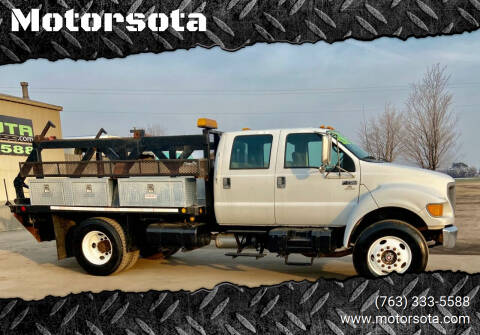 2000 Ford F-750 Super Duty for sale at Motorsota in Becker MN