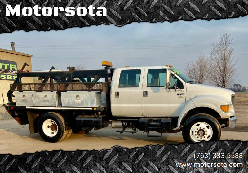 2000 Ford F-750 Super Duty for sale in Becker, MN