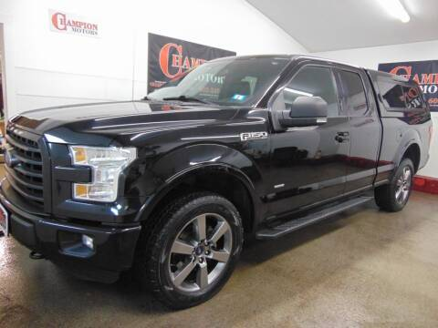 2016 Ford F-150 for sale at Champion Motors in Amherst NH