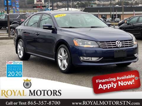 2015 Volkswagen Passat for sale at ROYAL MOTORS LLC in Knoxville TN