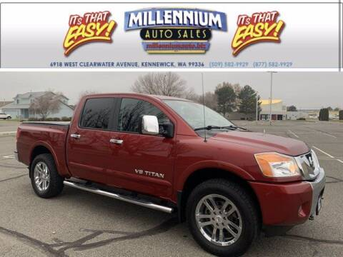 2013 Nissan Titan for sale at Millennium Auto Sales in Kennewick WA
