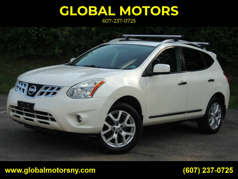 2011 Nissan Rogue for sale at GLOBAL MOTORS in Binghamton NY