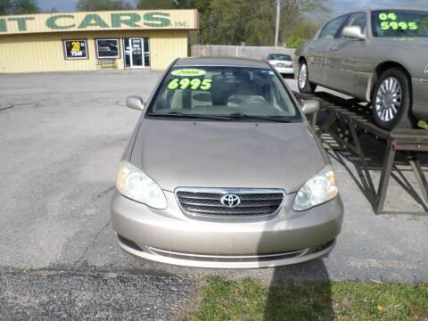 2006 Toyota Corolla for sale at Credit Cars of NWA in Bentonville AR