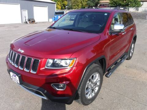 2014 Jeep Grand Cherokee for sale at J & K Auto - J and K in Saint Bonifacius MN