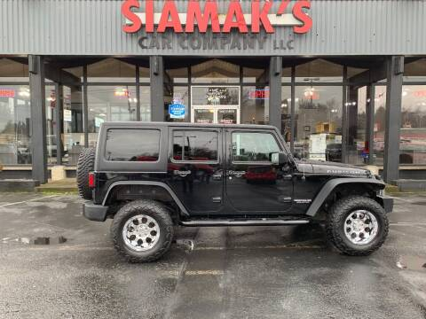 2015 Jeep Wrangler Unlimited for sale at Siamak's Car Company llc in Salem OR