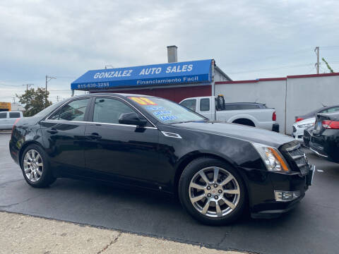 2008 Cadillac CTS for sale at Gonzalez Auto Sales in Joliet IL