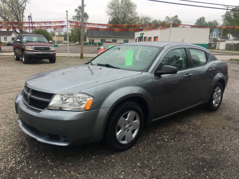 2010 Dodge Avenger for sale at Antique Motors in Plymouth IN