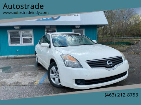 2008 Nissan Altima for sale at Autostrade in Indianapolis IN