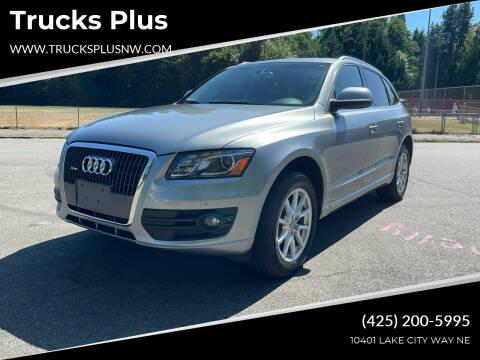 2011 Audi Q5 for sale at Trucks Plus in Seattle WA